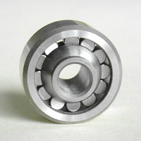 self aligning single row bearing without shields